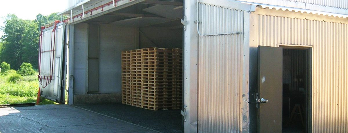 Wooden Pallet Factory Heat Treatment Kiln